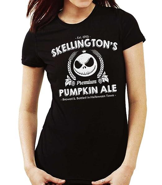 35mm - Camiseta Hombre Jack Skellington Skellington's Pumpkin Ale Ko2gr0CRF