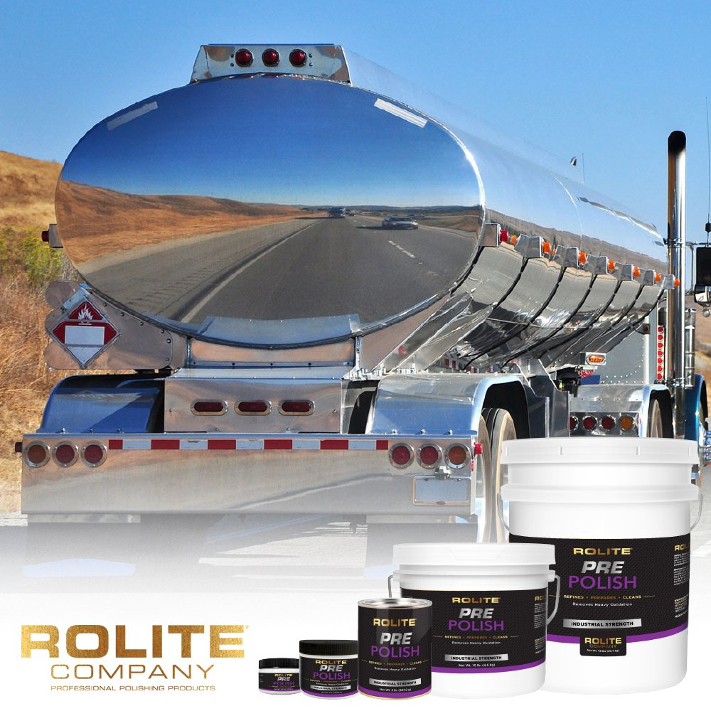 Rolite Pre Polish & Metal Polish (1lb) for The Ultimate Restorative Shine on All Metal Surfaces Combo Pack by Rolite (Image #6)