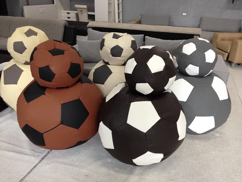 Jas-Min Asiento Balón de fútbol Set XL Asiento sackxl Piel ...