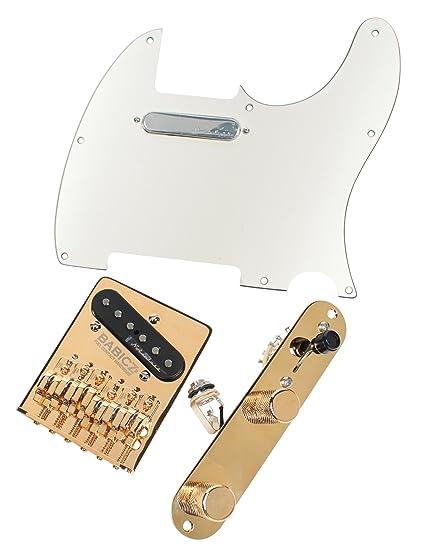 Fender Noiseless Pickups >> Amazon Com Telecaster Upgrade Kit Fender Vintage Noiseless Pickups