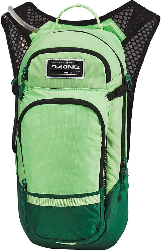 Dakine Men s Session 12L Bike Hydration Backpack, Summer Green, Fire, One Size