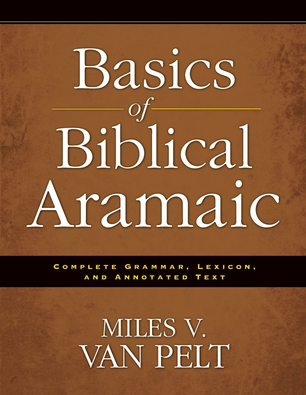 Read Online Basics of Biblical Aramaic: Complete Grammar, Lexicon, and Annotated Text ebook