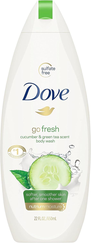 Dove go Fresh Body Wash, Cucumber and Green Tea 22 oz