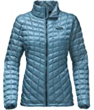 The North Face Women's W THERMOBALL FZ JKT TNF BLACK