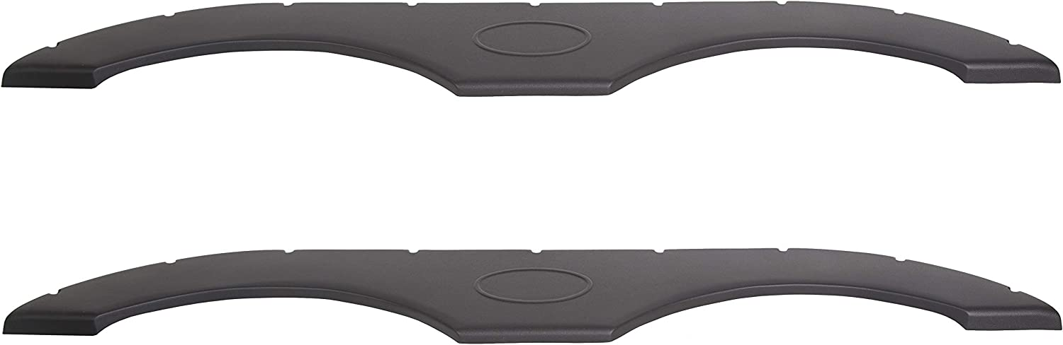 Black JMTAAT Pair of Tandem Trailer Fender Skirt Compatible with RV Campers and Trailers