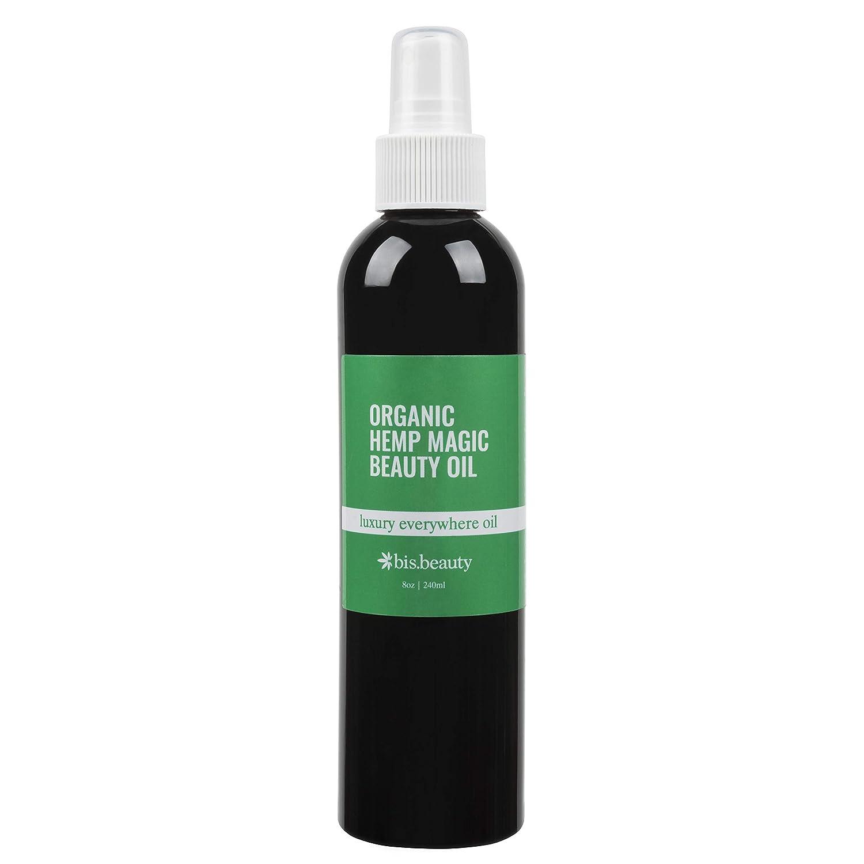 Magic All-Purpose Skincare Oil-100% Organic Hemp Seed Oil-Hydrate/Repair for Face, Body, Hair, Nails