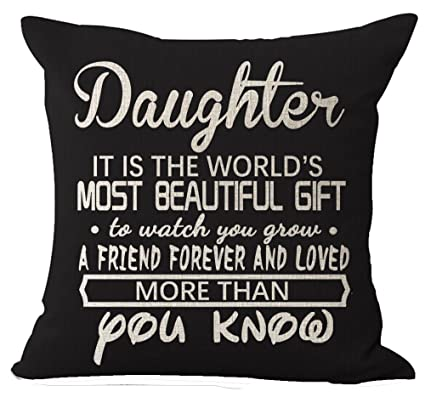 amazon com best gifts for daughter nordic warm sweet sayings it is