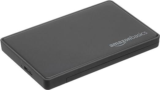 AmazonBasics 2.5-inches SATA HDD or SSD Hard Drive Enclosure - USB 3.0