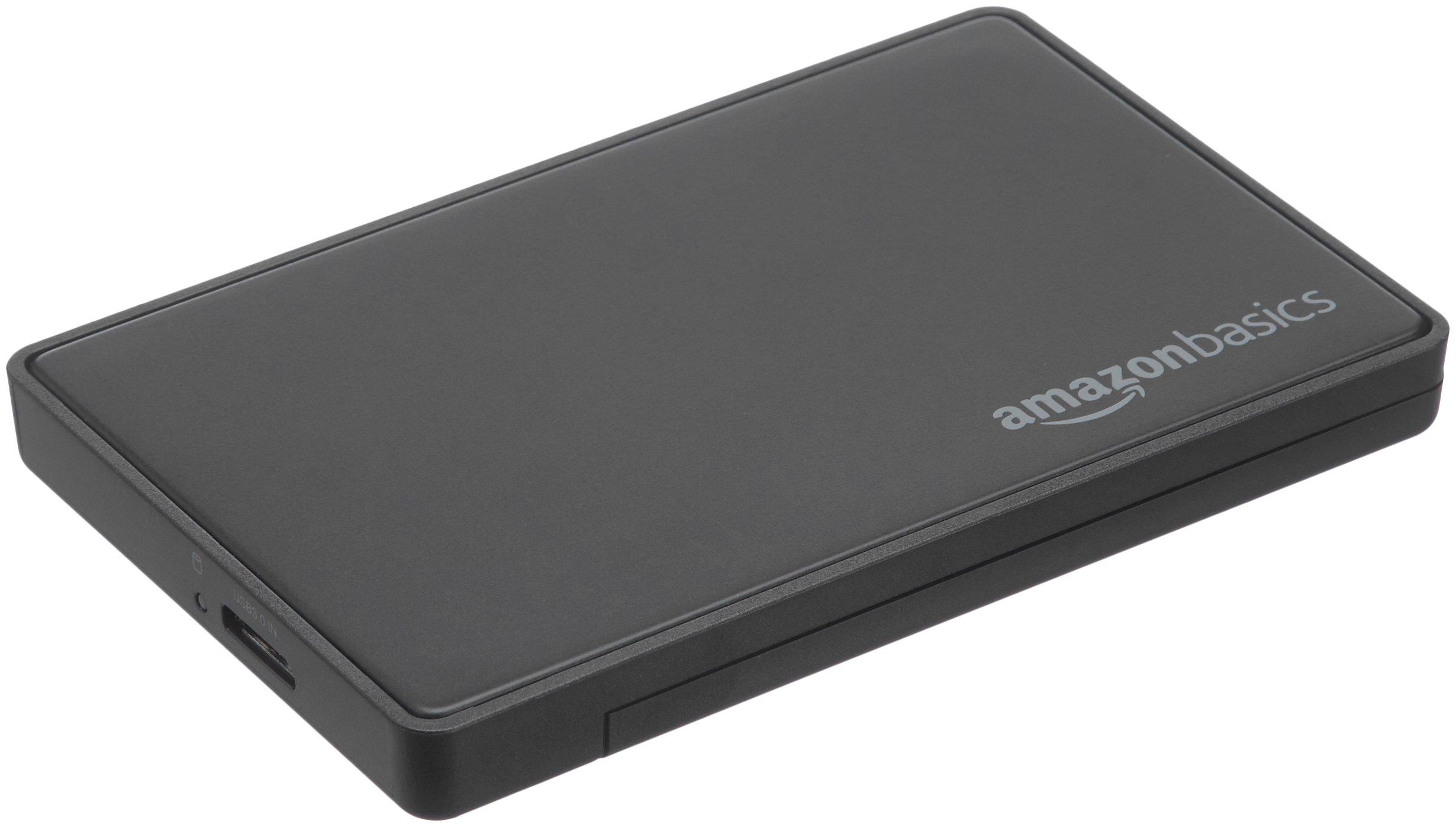 AmazonBasics 2.5-inches SATA Hard Drive Enclosure - USB 3.0