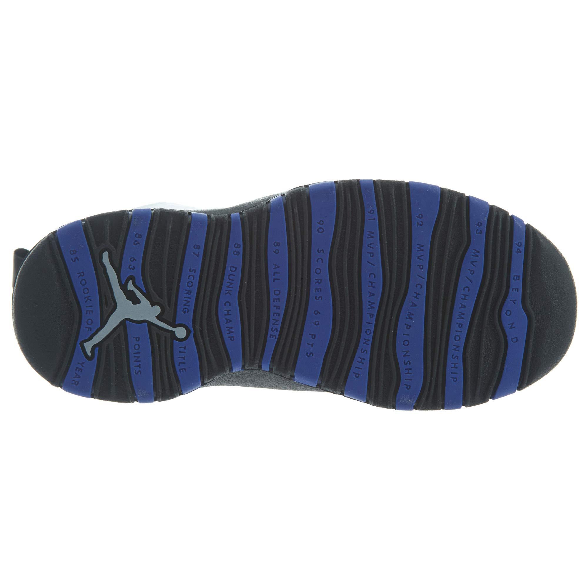 Jordan Air Retro 10''Orlando White/Black-Royal Blue (PS) (13 M US Little Kid) by Jordan (Image #7)