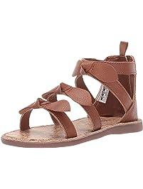 e3784397425af OshKosh B Gosh Girl s Winona Bow-Accented Strappy Sandal