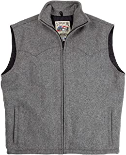 product image for SCHAEFER RANCHWEAR 730 ARENA VEST (3XL, Heather Gray)