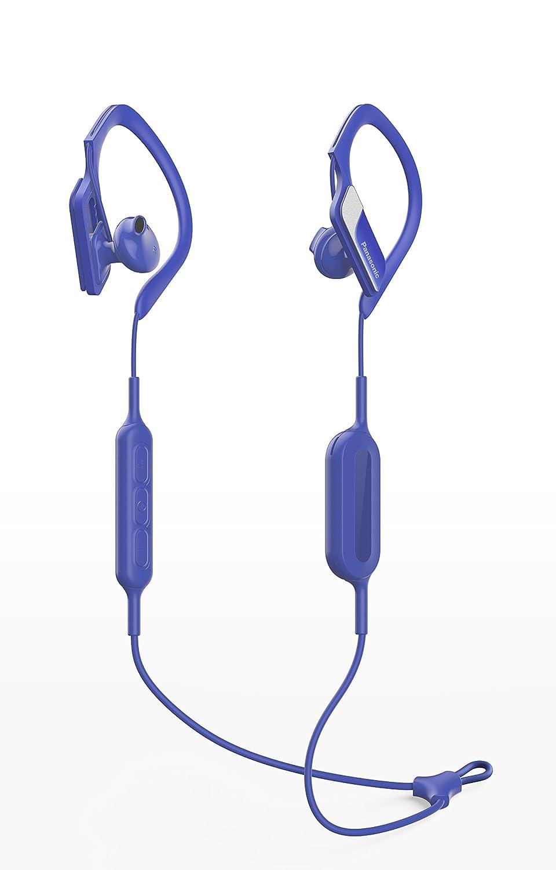 Panasonic Wings RP-BTS10E-A - Auriculares Deportivos In-Ear con Bluetooth, Azul: Amazon.es: Informática