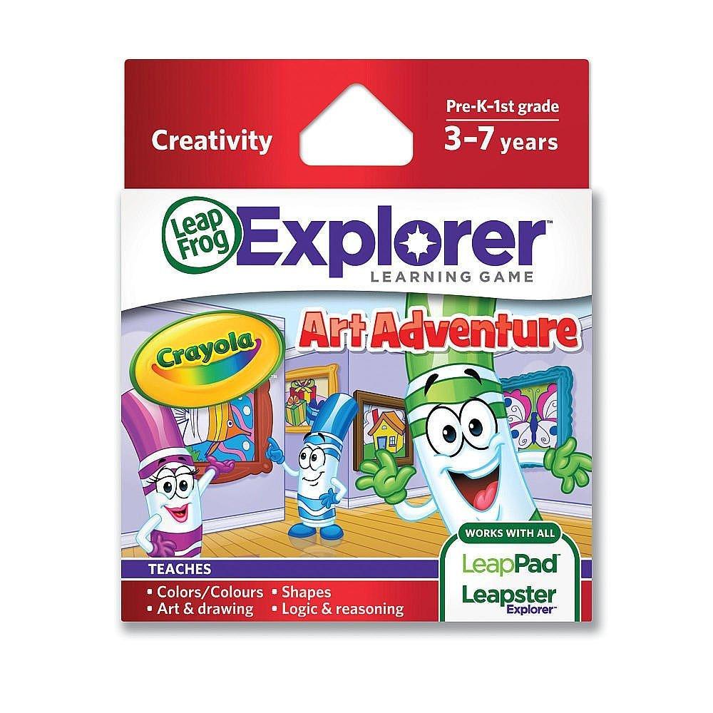 LeapFrog Enterprises Explorer Learning Game Crayola Art Adventure by LeapFrog
