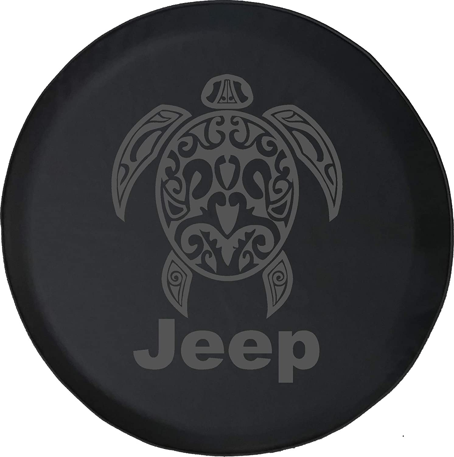 Spare Tire Cover Sea Turtle Diving Beach Marine Life Fits Jeep Tire Cover or Jeep Wrangler or RV Pink 29 Inch