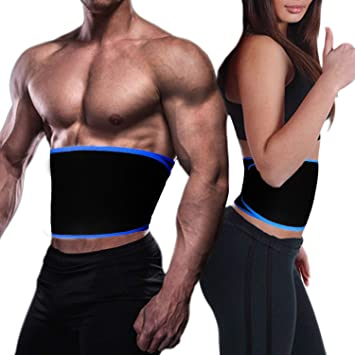 QuiCi Mujer HombresCintura Trimmer Cinturón Cuerpo Shaper ...