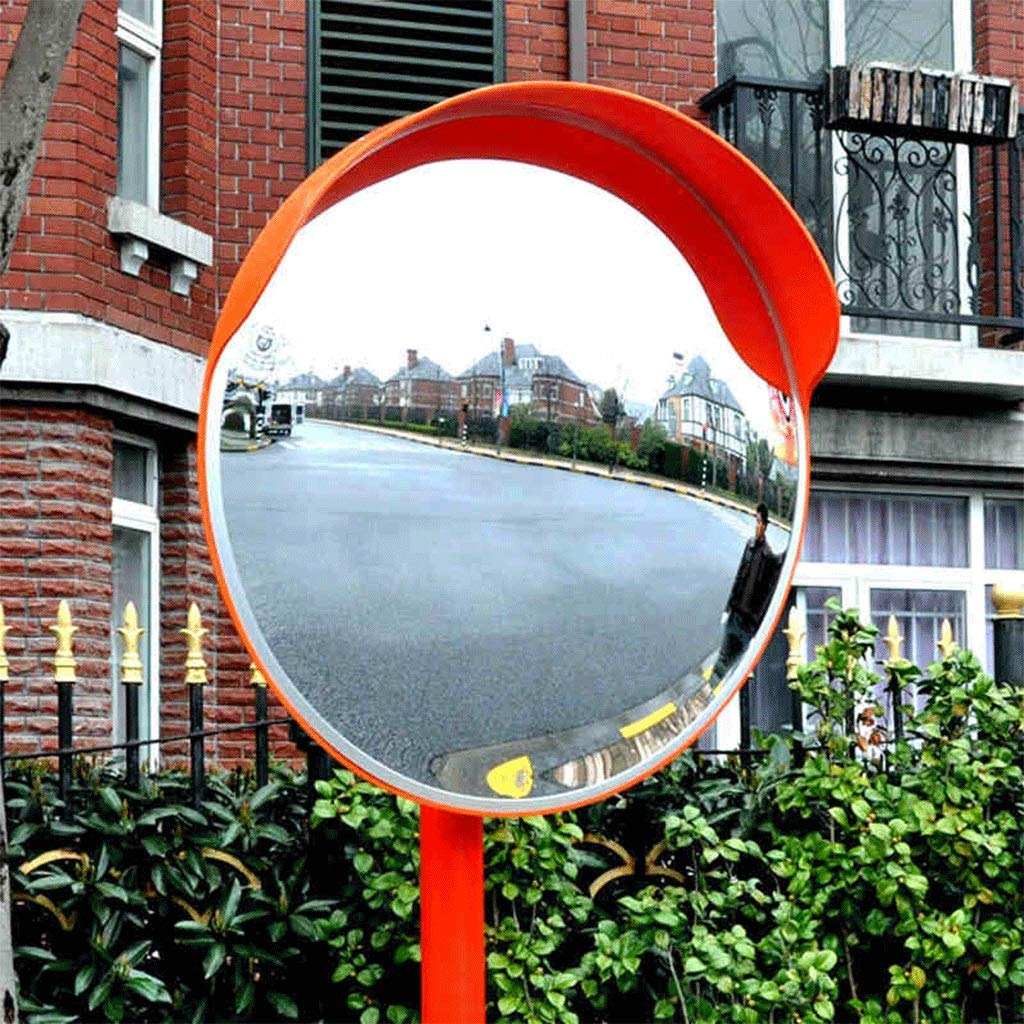 Convex mirror - ✊GJJ Outdoor Panoramic Driveway Turning Road Safetyin Blind Spot Anti-Collision Mirrors 0419P (Size : 120cm)