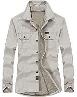 B dressy Slim camisa social masculina shirt men long sleeve thick warm cotton shirt dress mens casual shirts plus size S-6XL Cool