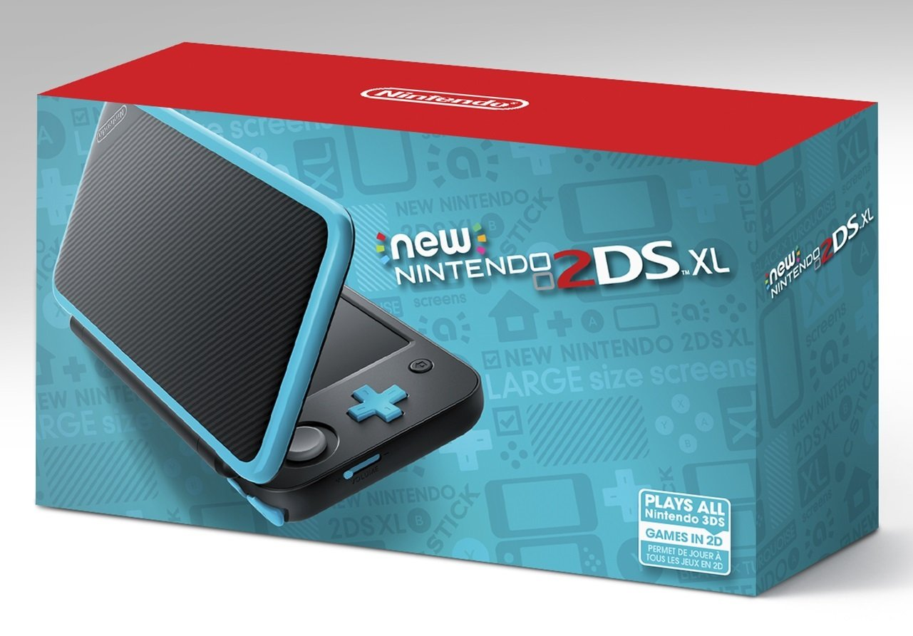 Nintendo New 2DS XL - Black + Turquoise by Nintendo (Image #9)