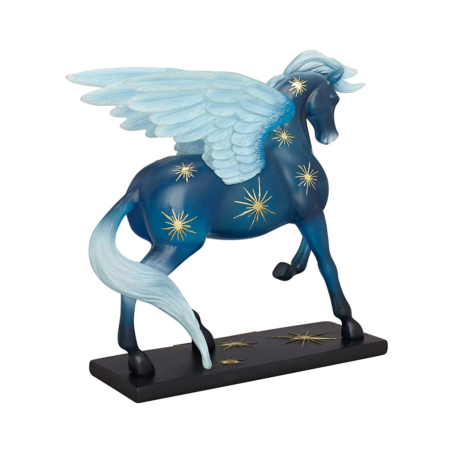 "7.25/"" Enesco Trail of Painted Ponies /""Night Flight/"" Clear Resin Figurine"
