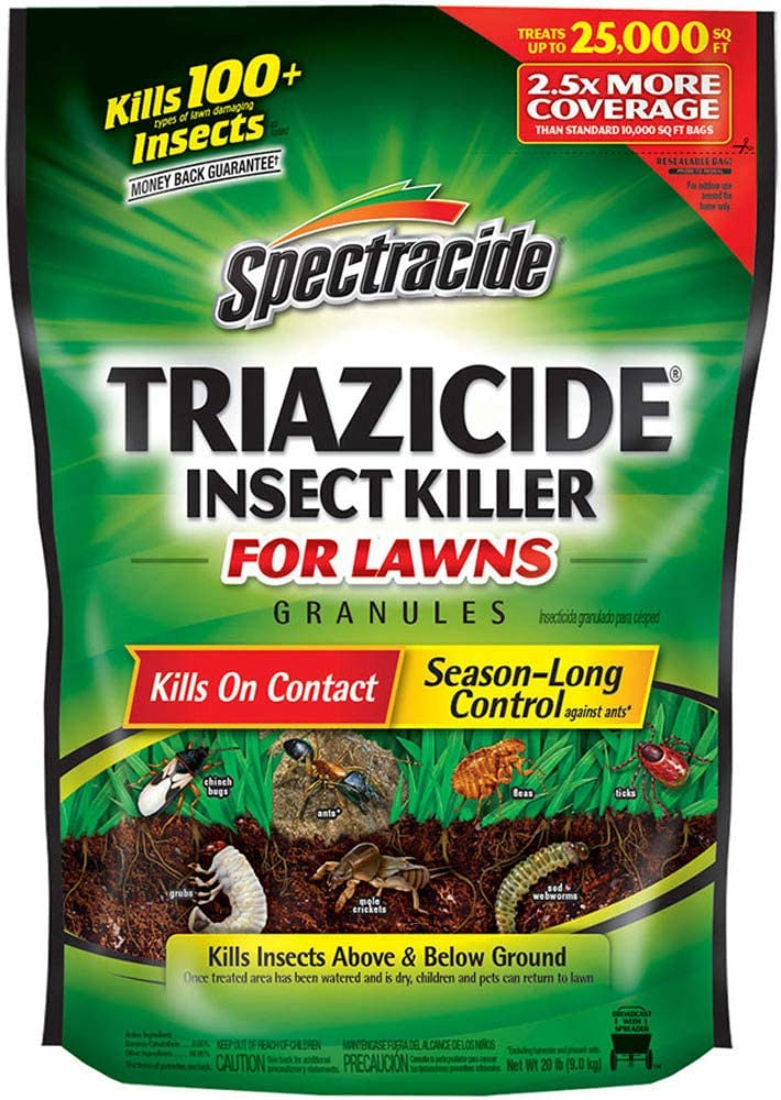 SpectracideTriazicide Insect Killer For Lawns Granules