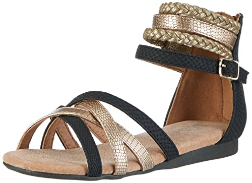leder riemchen sandalen mädchen schwarz