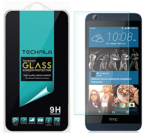 techfilm htc desire 626s 626 tempered glass screen protector premium ballistic amazoncom tempered glass