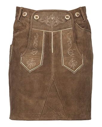 falda de cuero tradicional