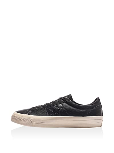 581b93e226b306 low cost converse one star 06ea2 1c297  reduced converse one star premium  leather ox almost black black parchment 10.5 m us 020ac 841d6