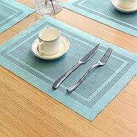 U·SEMD 防水防滑西餐垫 隔热垫【PVC材质 水洗速干 护桌 防滑隔热】餐桌垫 碗垫 盘垫