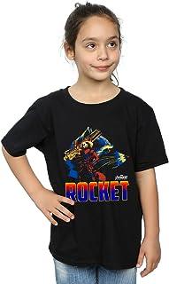 Avengers Fille Infinity War Rocket Character T-Shirt