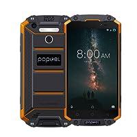 PS0040GR-EU Poptel P9000 MAX Smartphone 4G 9000mAh IP68 Impermeable ROM de 4 GB RAM 64 GB MT6750 Octa Core 5.5 Pulgadas FHD Pantalla 1920 * 1080P Cámara de 13MP NFC OTG Huella Dactilar