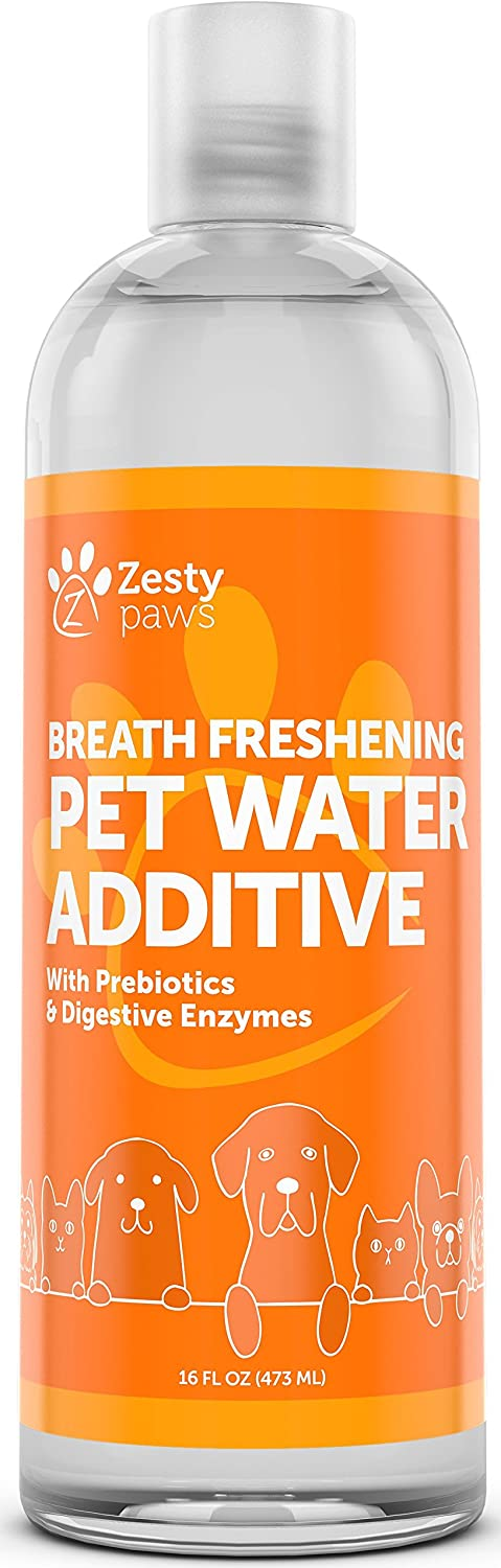 ZESTY PAWS WATER ADDITIVE FOR DOGS