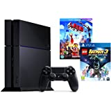Sony PlayStation 4 Console with Lego Batman 3: Beyond Gotham and The Lego Movie [Blu-ray + UV Copy]