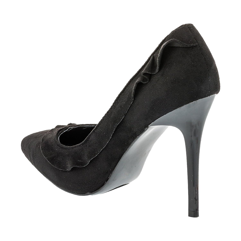 CinkMe Damen Pumps High Heels Stiletto Party Schuhe in Vielen Farben