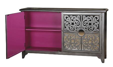 La Credenza Uk : Sterling mirror fretwork credenza: amazon.co.uk: kitchen & home