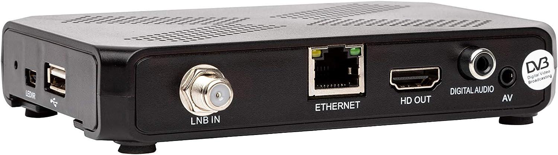 DVB-S2 Multistream H.265, Linux OS Golden Interstar Alpha X