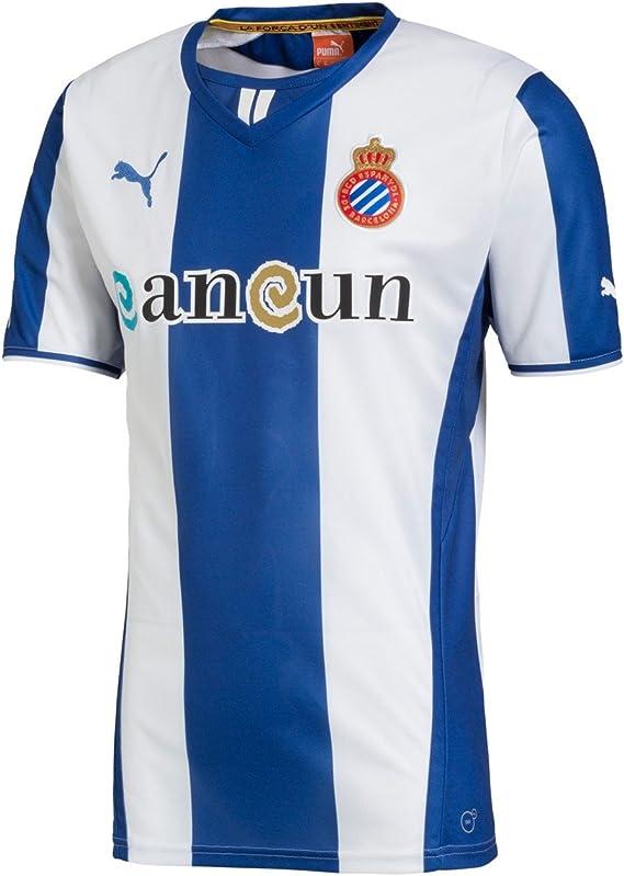 PUMA - RCD Espanyol, Color True Blue, Talla S: Amazon.es: Ropa y accesorios