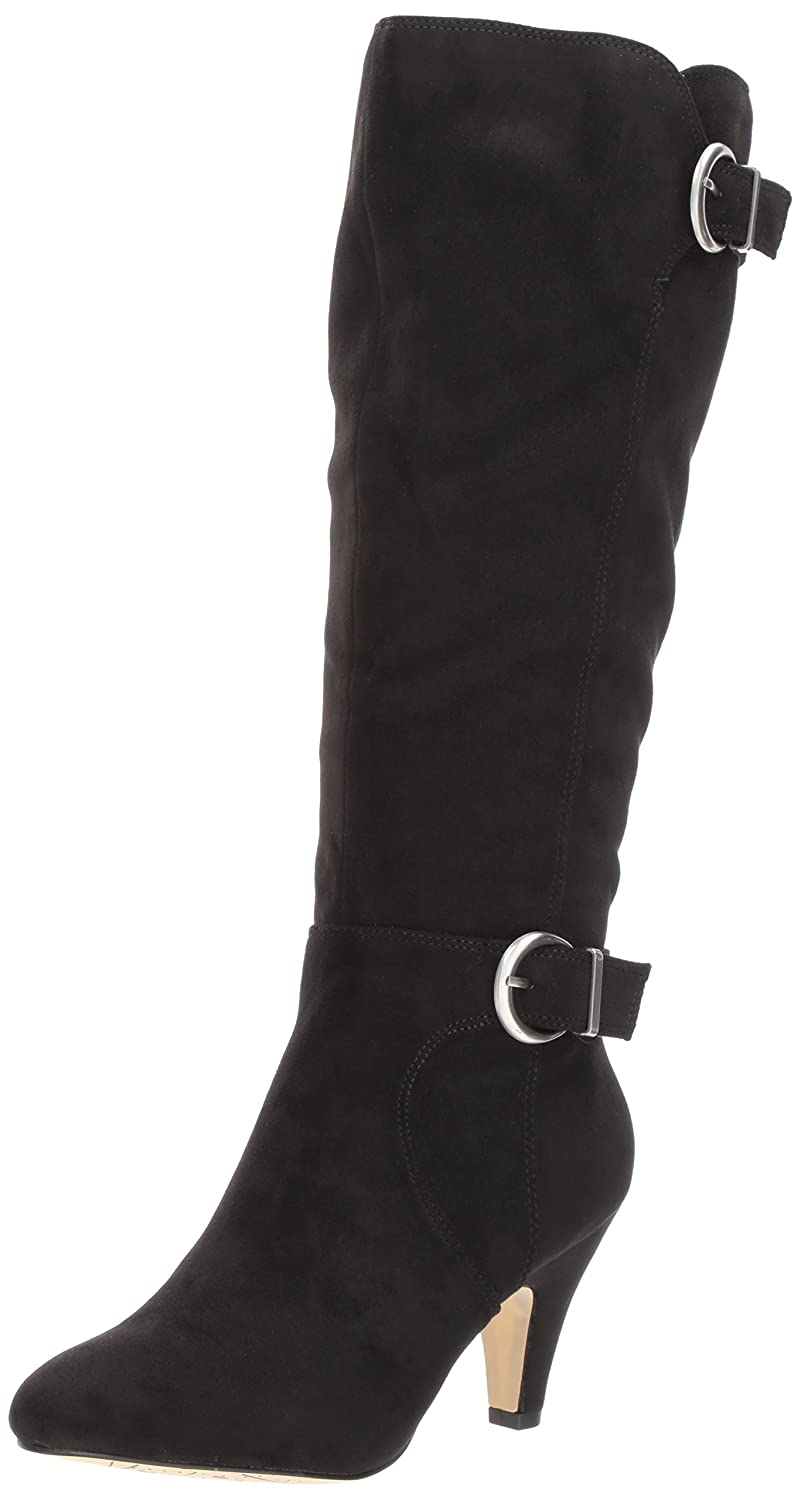 Bella Vita Women's Toni Ii Plus Harness Boot B071RDB9MP 11 B(M) US|Black Super Suede