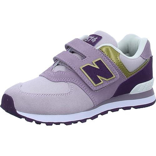 New Balance - Zapatillas de Cuero para niña: New Balance: Amazon.es: Zapatos y complementos