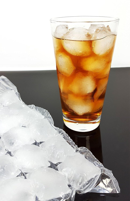 Eiskugelbeutel Eiswürfelbeutel für 240 Kugeln Party Cocktail Caipirinha Bar