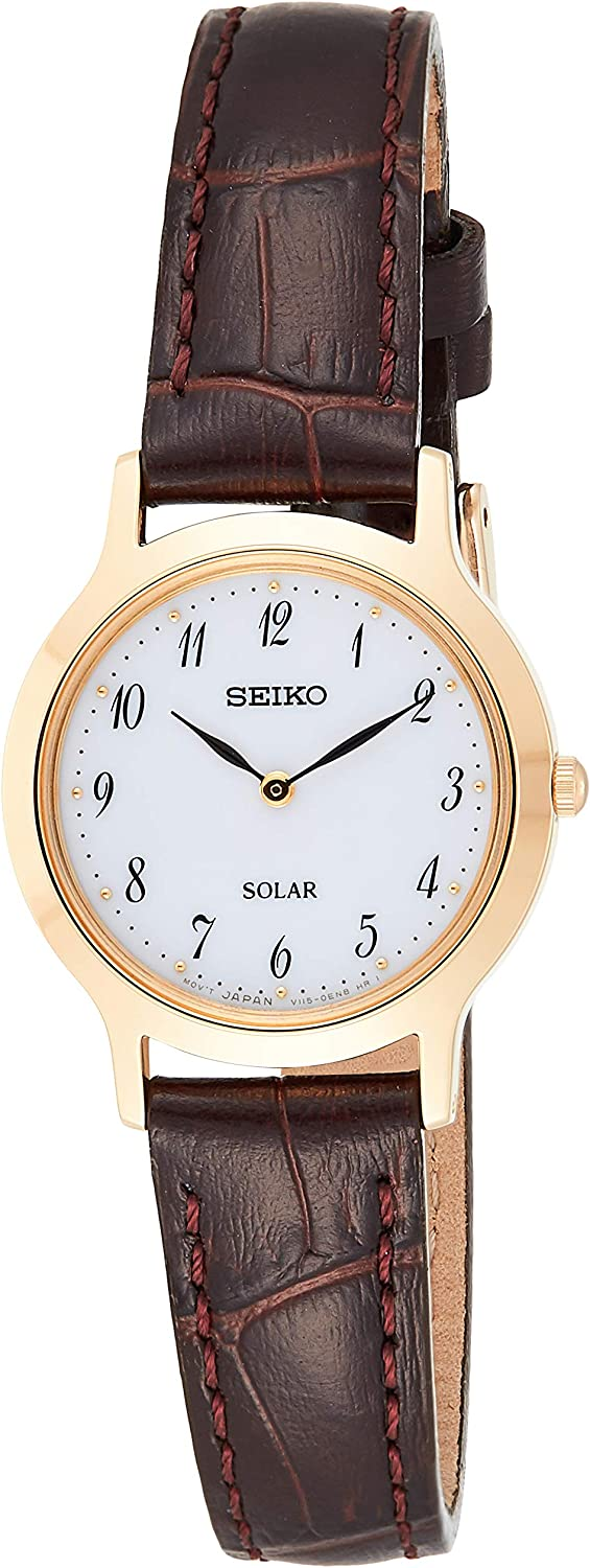 Seiko Classic SUP372P1 Wristwatch for women Classic & Simple