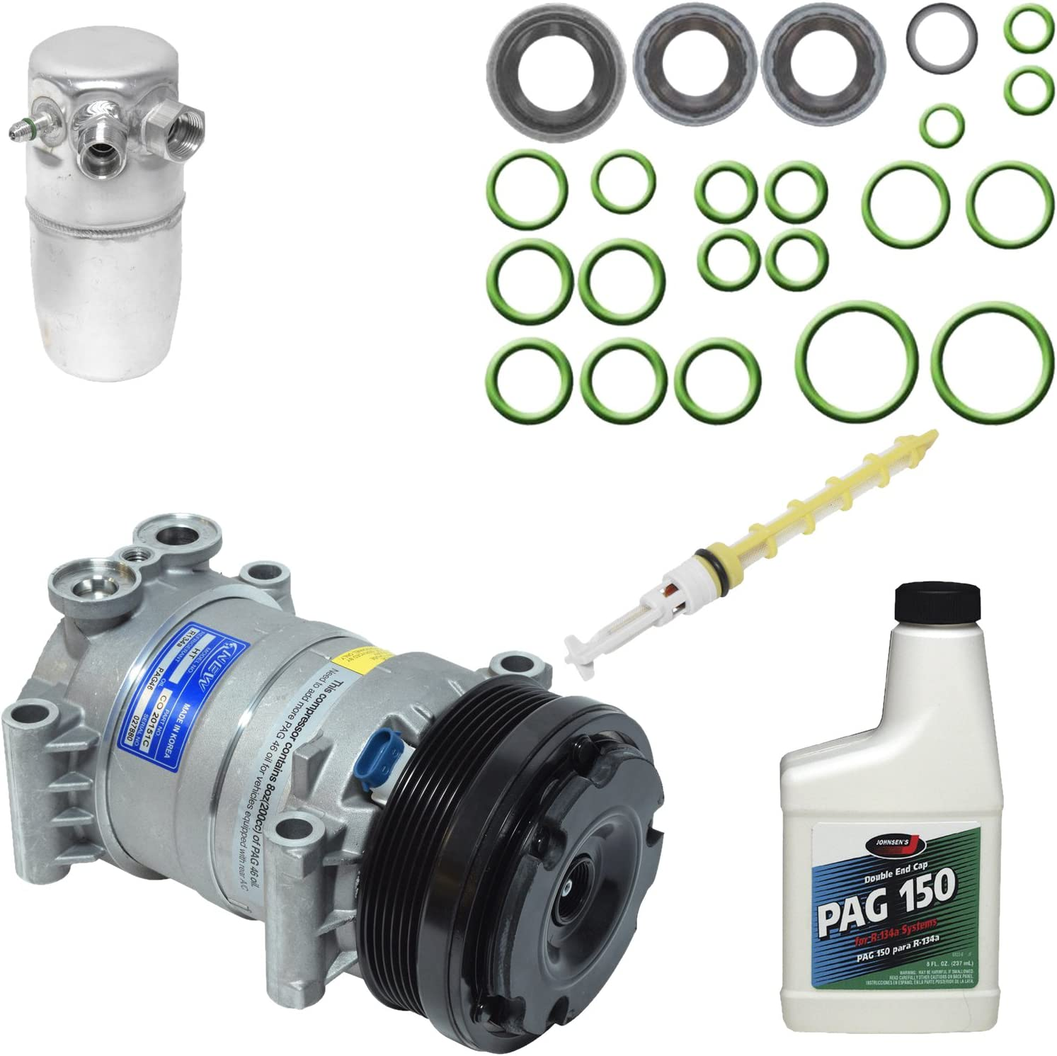 Universal Air Conditioner KT 3269 A//C Compressor and Component Kit
