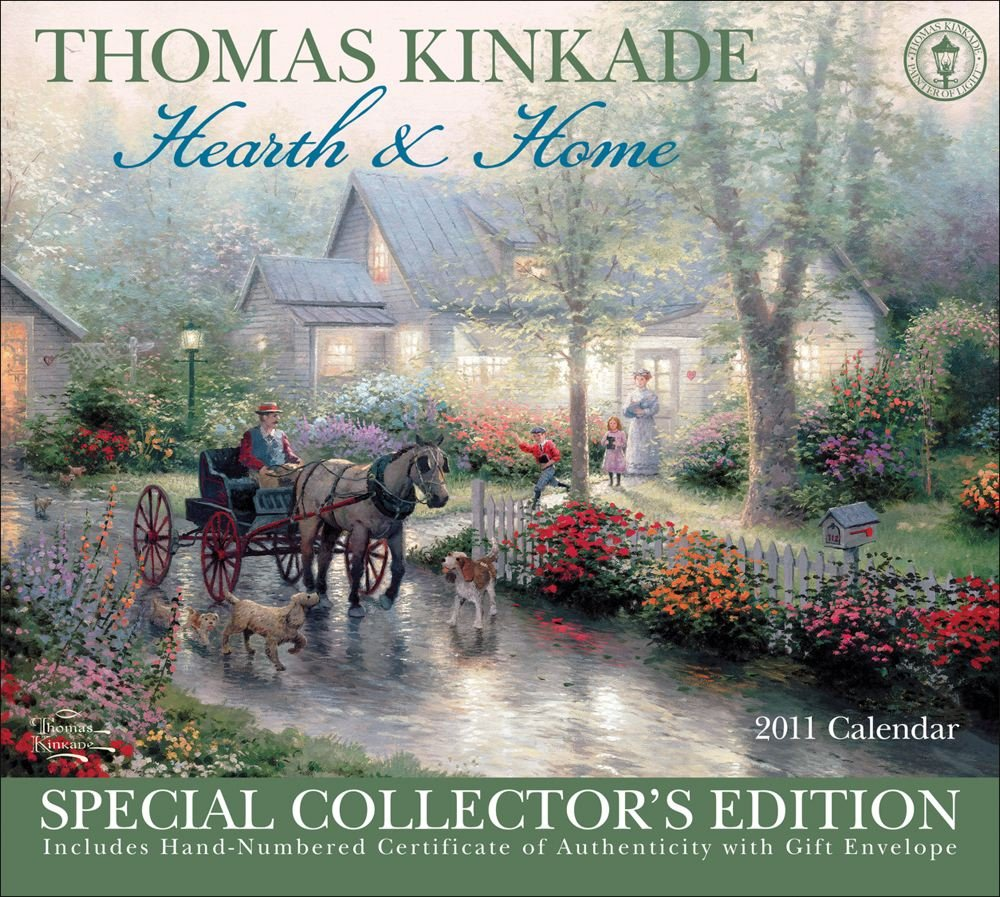 Read Online Thomas Kinkade Special Collectors Edition Hearth and Home: 2011 Wall Calendar pdf epub