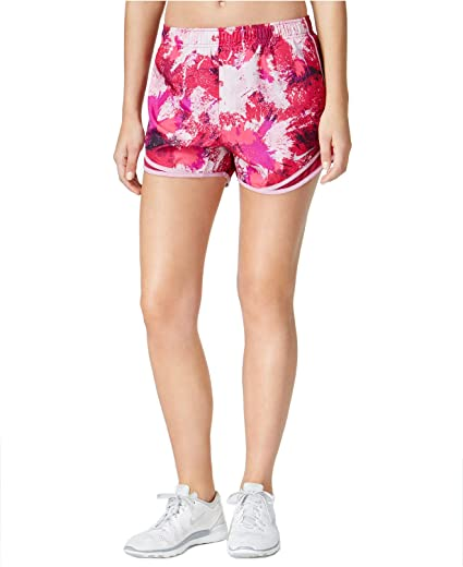 008a4101bd47 Amazon.com: Nike Women's Dry Printed Tempo Running Shorts: Sports & Outdoors