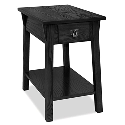 Leick Mission Chairside Small End Table – Slate