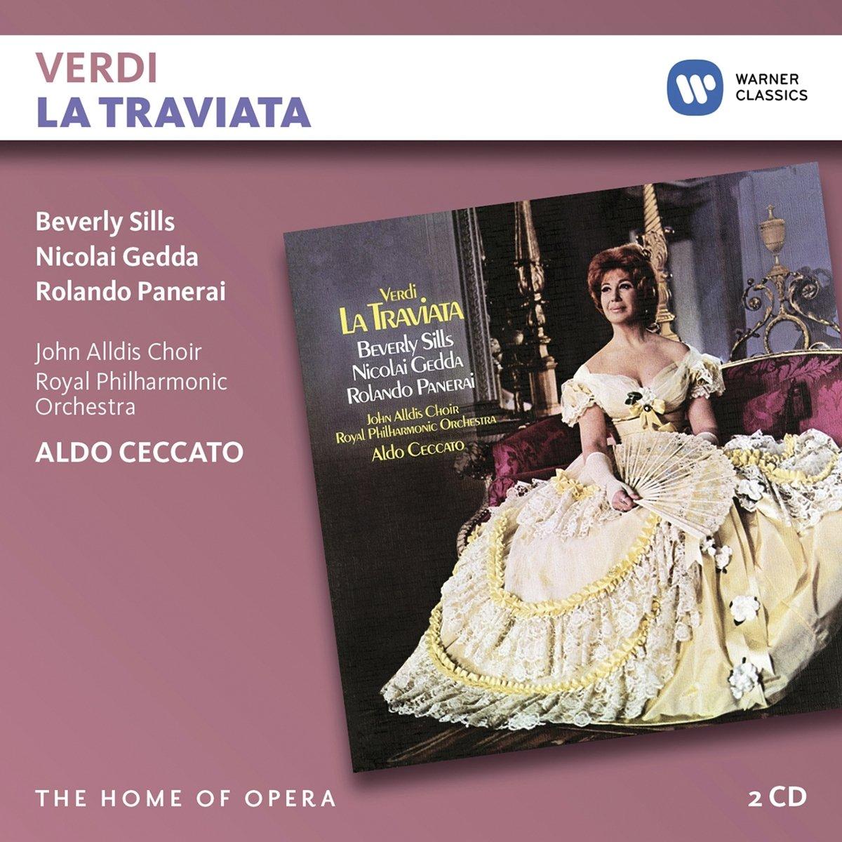 CD : Beverly Sills - Verdi: La Traviata (2PC)