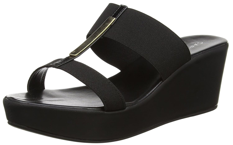 Carvela Damen Sapphire NP Offene Sandalen mit Keilabsatz Schwarz 00) (schwarz 00) Schwarz 4396cc