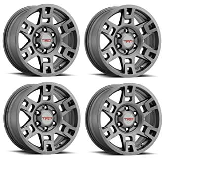 Amazon com: Genuine Toyota 4Runner TRD PRO Matte Gray Wheels PTR20