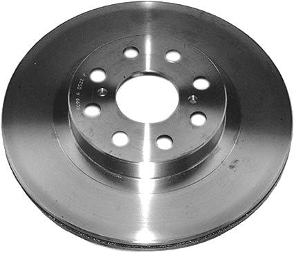 Disc Brake Rotor-Non-Coated Rear ACDelco Advantage 18A1412A